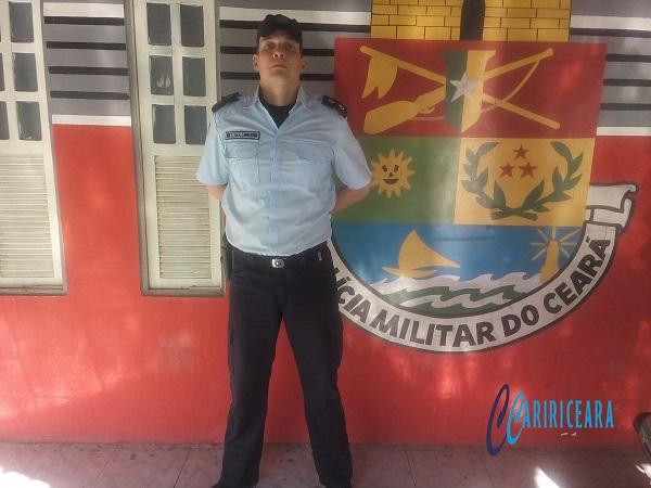 1º Tenente Meton Meireles Soares de Alencar _Foto Agência Caririceara.com