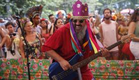 O ritmo divertido animou os foliõesFernando Frazão/Agência Brasil