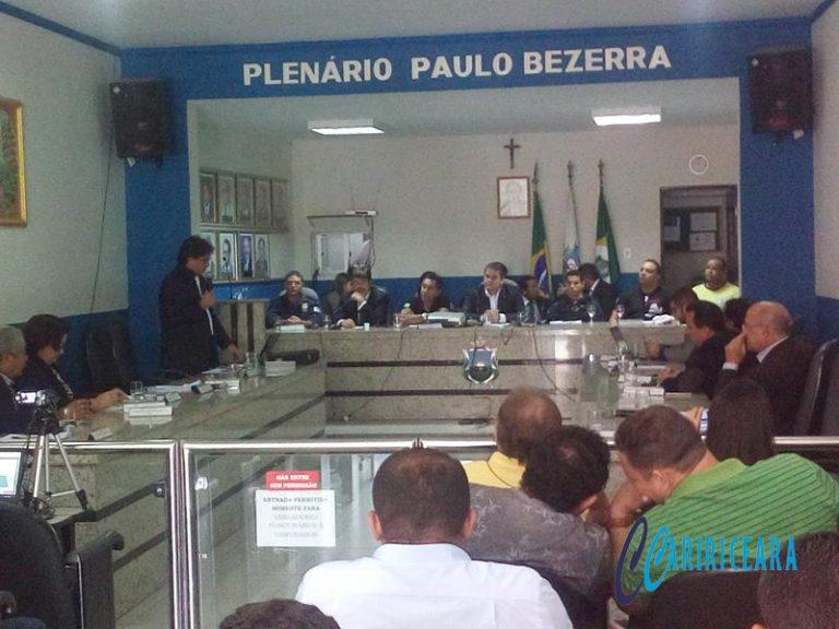 Câmara do Crato promove debate sobre segurança pública