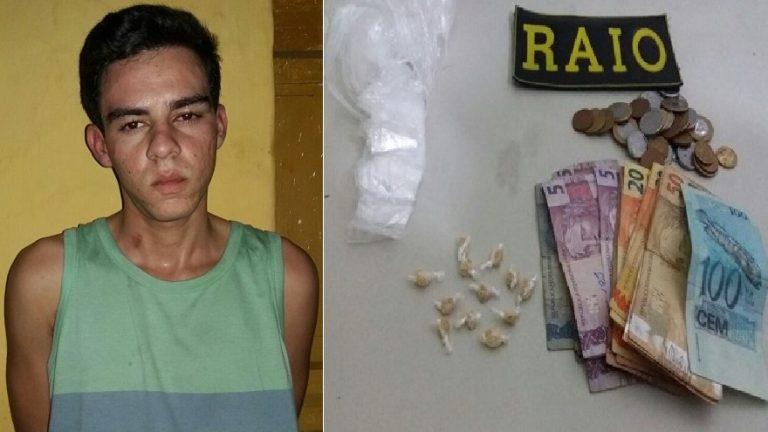 Baladeira é preso em Juazeiro por tráfico de drogas
