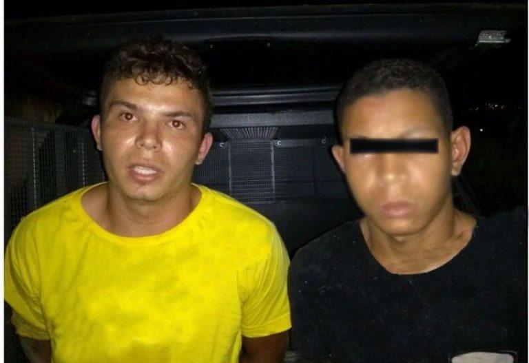 Dupla acusada de furto é flagrada pelo RAIO de posse escopeta 12 e diversos produtos de procedências duvidosas
