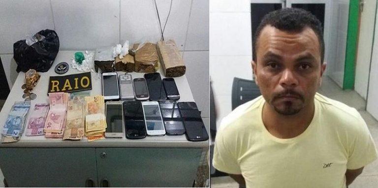 Gerente de bar é preso acusado de trafico de drogas no bairro Tiradentes, em Juazeiro
