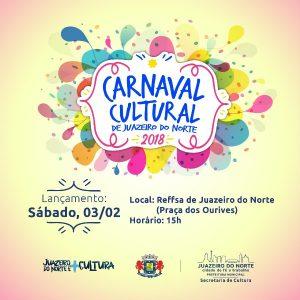 Juazeiro do Norte terá 'Carnaval Cultural' com prévia neste sábado, dia 03