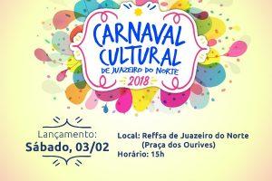 Juazeiro do Norte terá 'Carnaval Cultural' com prévia no neste sábado, dia 03