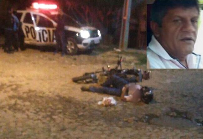 Vendedor de jóias é morto a tiros na presença da esposa no bairro Tiradentes em Juazeiro