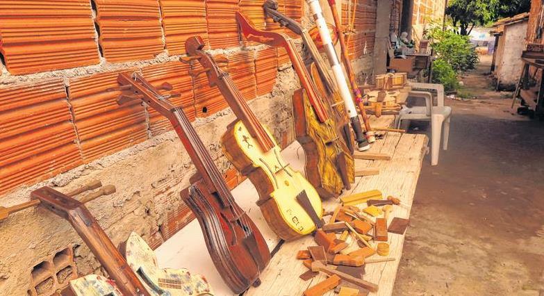 peças recicladas ( Foto: Antonio Rodrigues