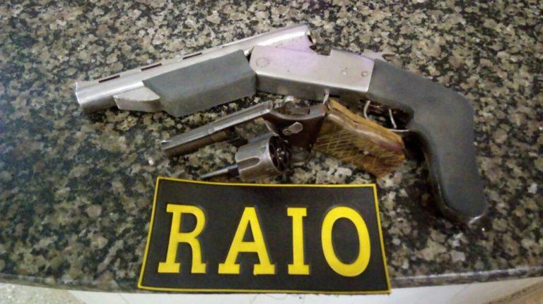 Após ameaçar populares, homem é preso de posse de duas armas de fogo em Crato