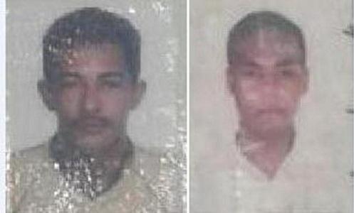 Cícero Siebra Alves, de 41anos e Fabio Pedro do Nascimento, de 29.