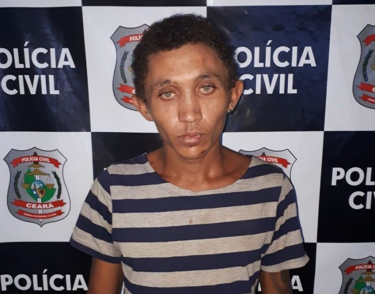 """José Rodrigues de Sousa Filho, """"Zé Filho"""" acusado de matar """"Seu Dé"""" permanece preso na cadeia de Missão Velha. Foto: Agência Caririceara.com"""