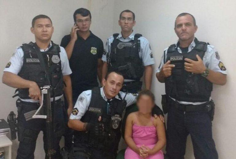 Menina de 07 anos sequestrada em João Pessoa-PB foi resgatada pela polícia de Penaforte-CE