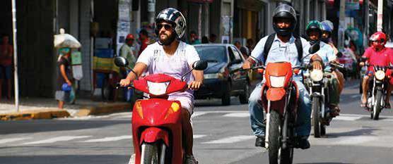 Número de motos cresce 201% nos últimos 10 anos no cariri