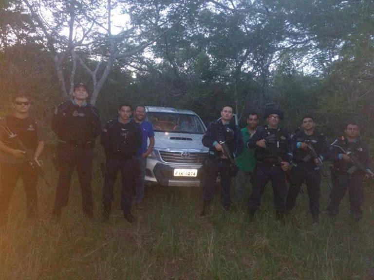 Polícia  militar recupera  carro  tomado de assalto de médico,  ex-prefeito e ex-deputado, Rommel Feijó de Barbalha