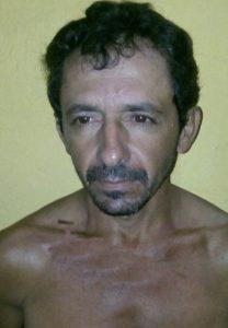 Sebastião da Silva Ferreira, 41 anos acabou preso em flagrante delito