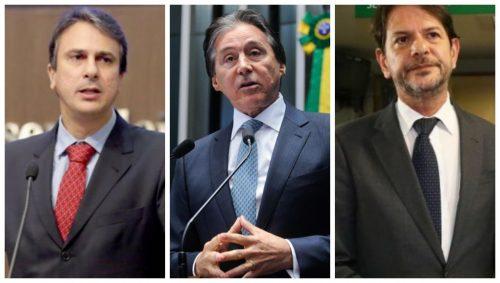 Martelo batido: chapa de Camilo terá Eunício Oliveira e Cid Gomes para o Senado