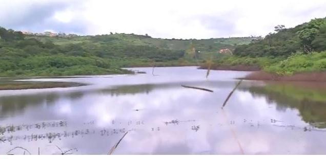 Açude São Domingos II, em Caririaçu, volta a ter água após 5 anos em volume morto