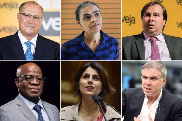 Pré-candidatos à Presidência comentam pesquisa Datafolha