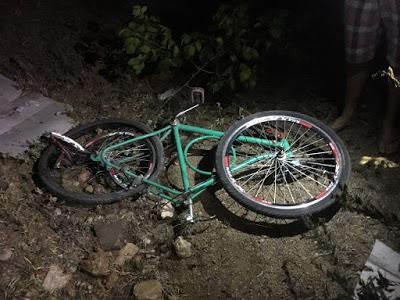 Ciclista morre em Campos Sales após cair de seu veículo