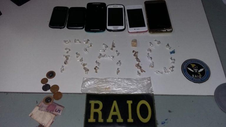 Dona de casa é presa em Crato, acusada de trafico de drogas