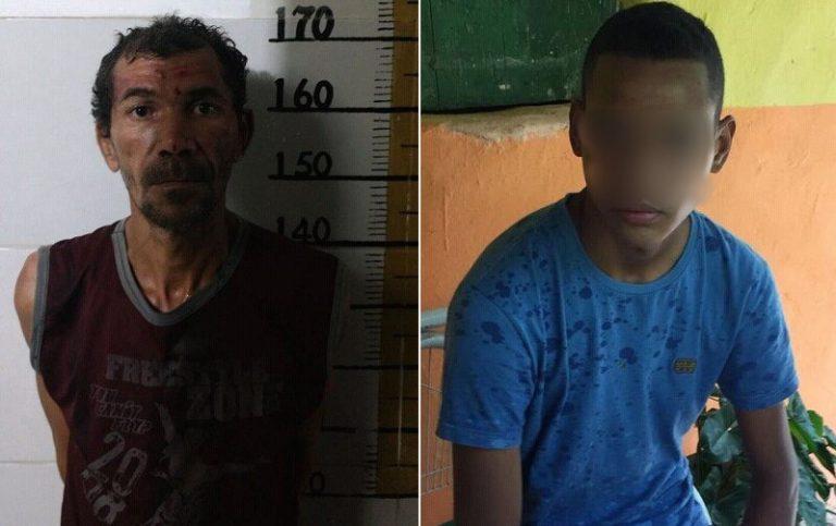 Homem de 46 anos preso em Juazeiro após estupra garota de 15 anos; e adolescente  apreendido acusado de manter namorada em cárcere privado em Barbalha