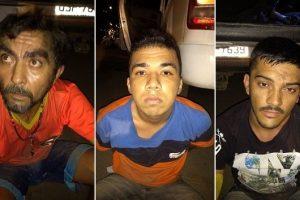 Policia prende em flagrante trio acusado de matar empresário no centro do Crato