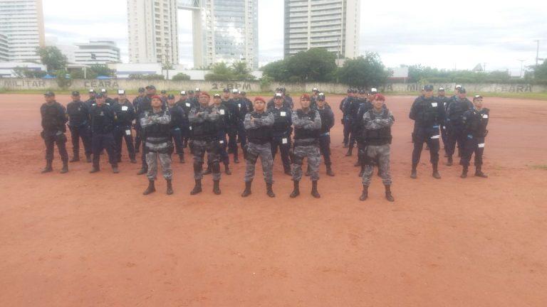 PMCE promove nivelamento da Força Tática que atuará na Região do Cariri