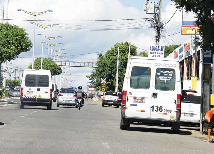 Usuários de topiques  do cariri reclamam da imprudência de motoristas