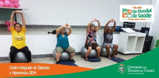Atividade física é forte aliada no controle do diabetes e da hipertensão arterial
