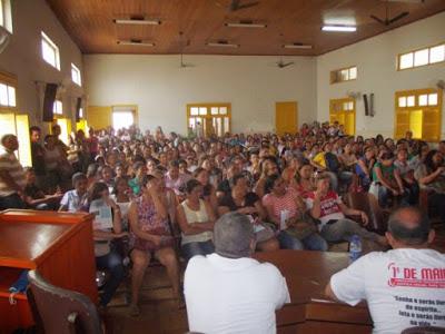 Servidores mantém estado de greve e enviam contraproposta para gestão do Crato