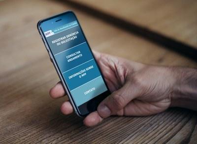 Aplicativo móvel aproxima sociedade do Ministério Público Federal