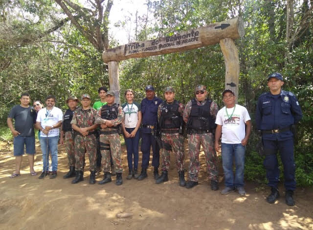 CRATO Secretaria de Turismo ganha reforço da Polícia Ambiental com patrulhamento na Chapada do Araripe