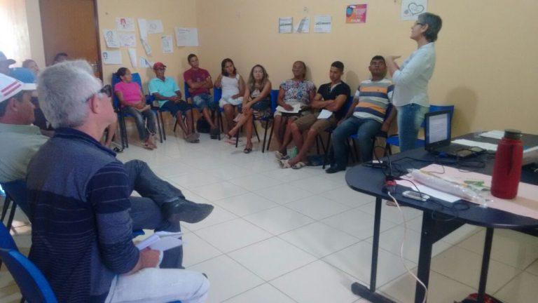 Crato incentiva trabalhadores da agricultura familiar com capacitação sobre Economia Solidária