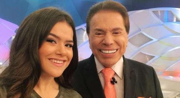 Maisa Silva se estressa com Silvio Santos após provocações do apresentador