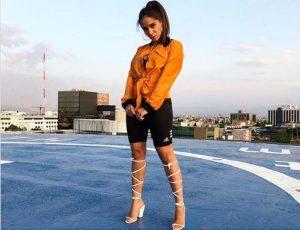 Combinar short de lycra (estilo academia) com salto, como fez Anitta, é nova tendência