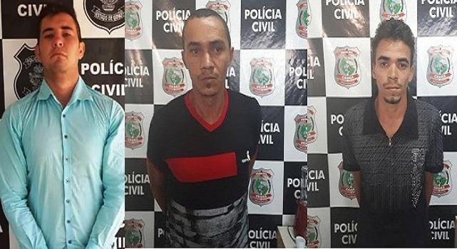 Policia civil efetua prisões de suspeitos de homicídio e ocultação de cadáver no Barro-CE
