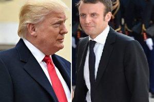 """Presidentes de França e EUA dialogaram """"sobre paz e estabilidade no Oriente Médio"""""""
