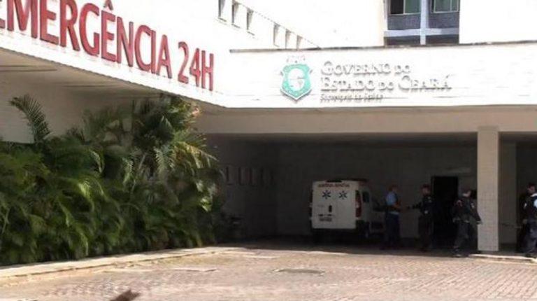 HRC (ambulância) - Foto reprodução - TV Verdes Mares Cariri