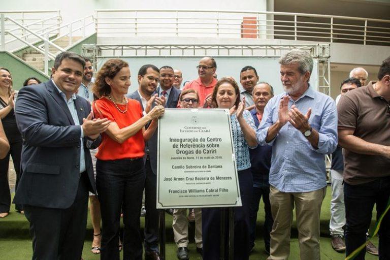 Inaugurado Centro de Referência Sobre Drogas em Juazeiro do Norte, o primeiro do interior do Estado