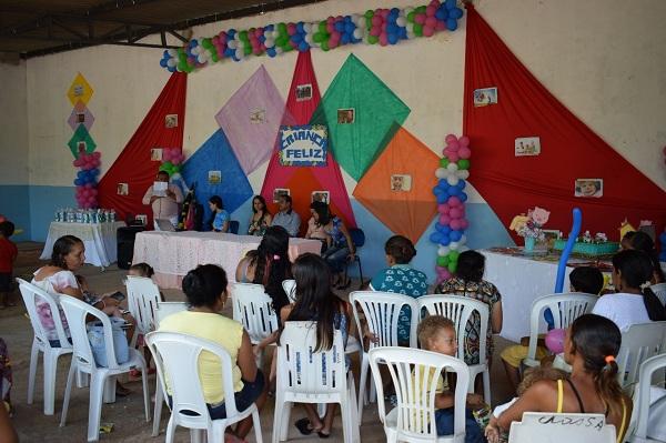 """Município de Barbalha realiza evento do projeto """"Criança Feliz"""""""