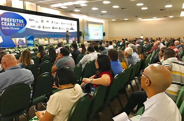 Seminário Prefeitos Ceará: mais de 500 participantes discutem Governança e Transparência na gestão municipal