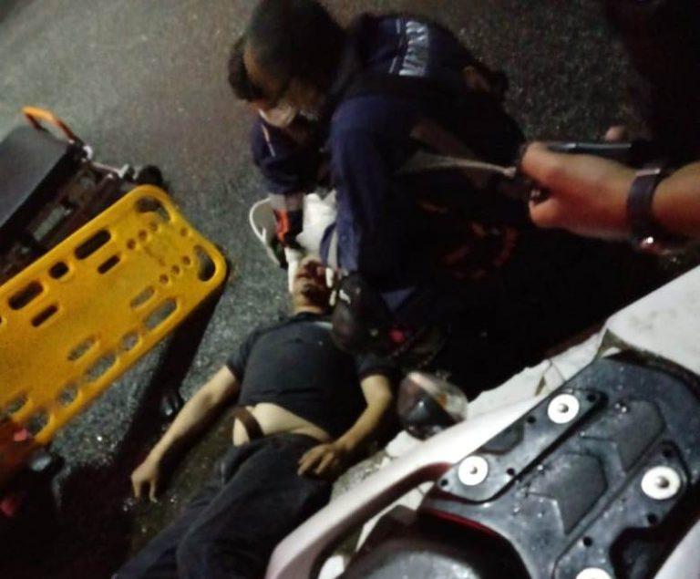 Uma pessoa morreu e outra ficou ferida após colisão de moto com poste, em Juazeiro do Norte