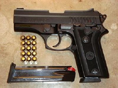 Em Salitre, polícia militar efetua prisão em flagrante  de dupla por porte ilegal de arma de fogo