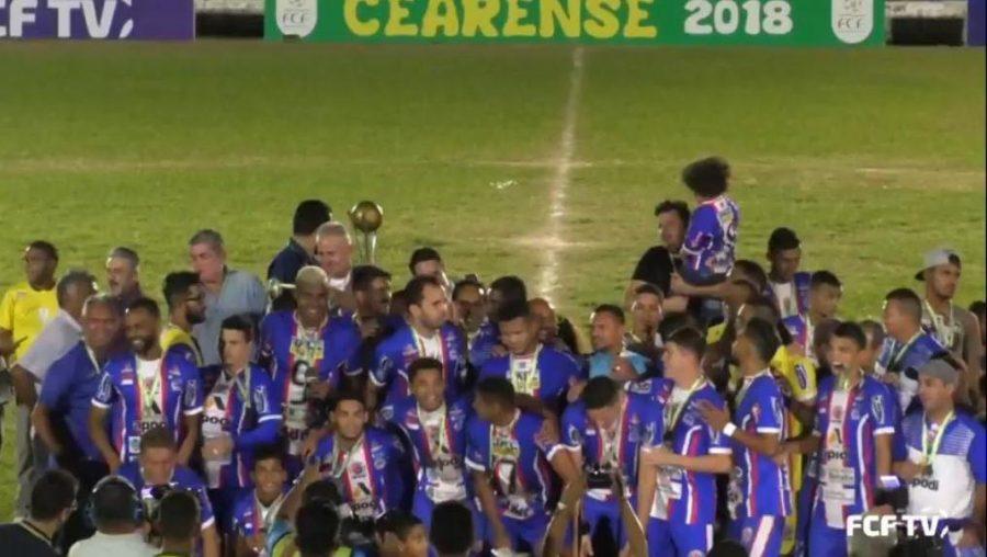 Barbalha conquista titulo de campeão do Cearense Série B 2018