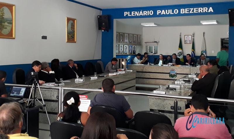 Câmara do Crato discute criação do Centro de formação para guardas civis