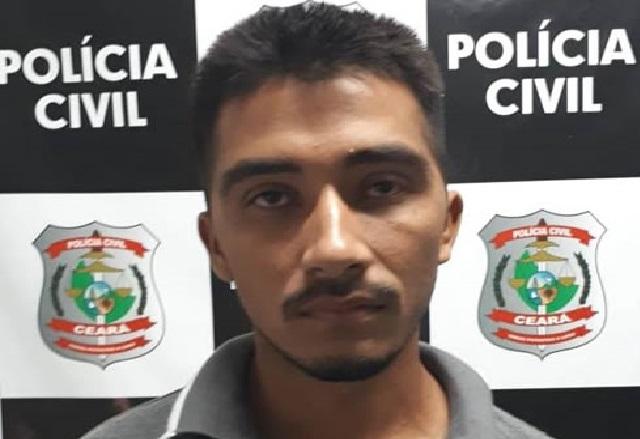 Polícia Civil  efetua prisão de suspeito de envolvimento em homicídio no ocorrido zona rural de Aurora-CE