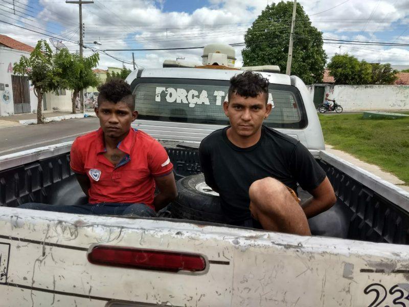 Horas depois de matar agricultor à facadas, dupla é presa pela PM de Mauriti