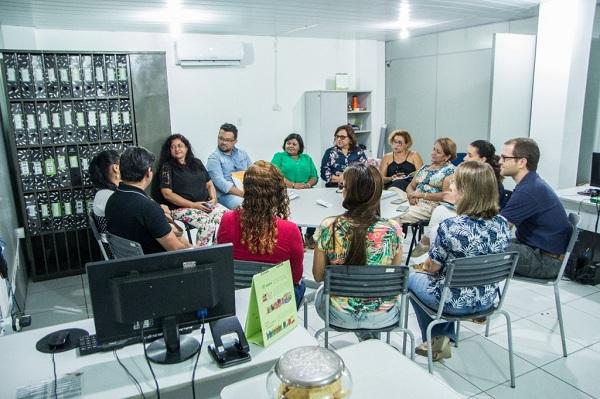 Fundação Itaú Social conhece o programa escola integradora em Juazeiro do Norte