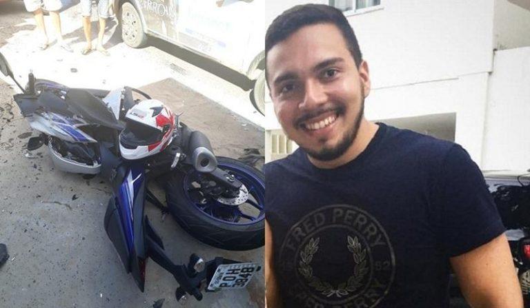 Universitário cratense morre em colisão entre veículos no Anel Viário de Juazeiro
