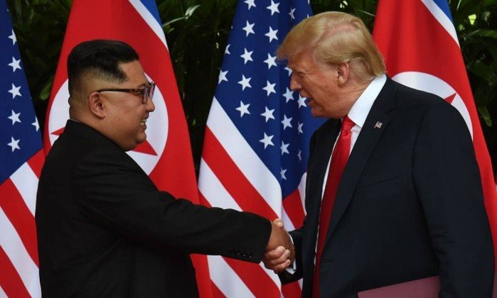 "Cúpula com Kim contribuiu para evitar ""catástrofe nuclear"", diz Trump"