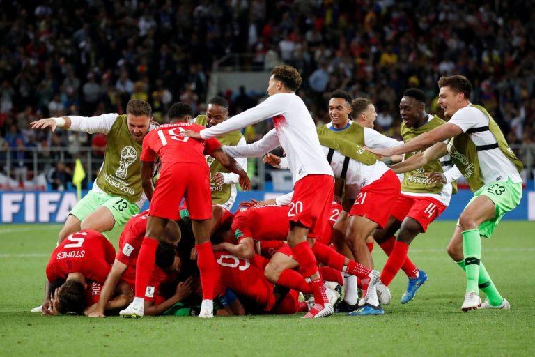 COPA 2018   No último jogo das oitavas, Inglaterra elimina Colômbia nos pênaltis