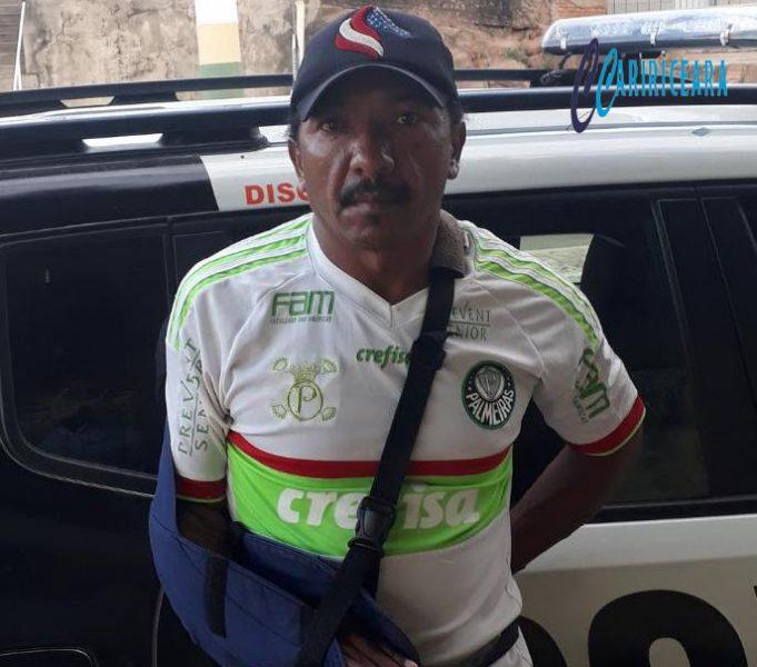 Agricultor que responde a 20 procedimentos policiais possuidor de 03 mandados de prisão em aberto é preso no Barro-CE